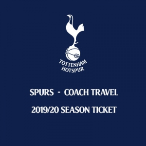 Tottenham Hotspur 2019/20 Coach Seat Season Ticket