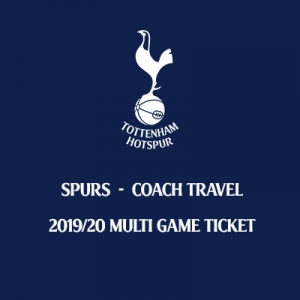 Tottenham Hotspur 2019/20 Coach Seat Season Ticket